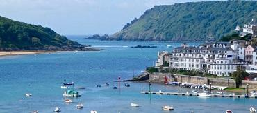 Salcombe estuary and town