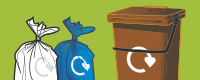 Report a missed domestic recycling or waste collection