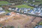 Building begins on affordable homes in South Brent